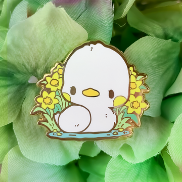 [SECRET SHOP] Daffodil Duck Pin (Limited Edition)