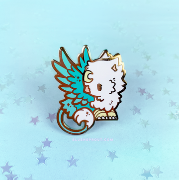 Pin Club Fantasy Collection - July 2019 ☆ The Rogue's Gryphon ☆ ENAMEL PIN