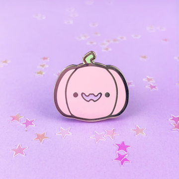 Spooky Cute - Pumpkin (Pink) Pin