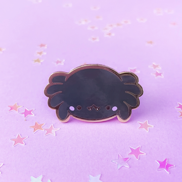 Spooky Cute - Spider (Black) Pin