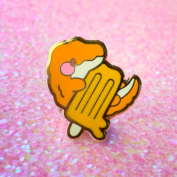 Crocsicle Pin