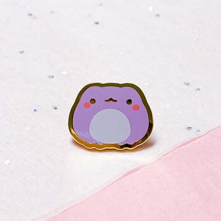 Froggie Colors | Purple Mini Pin