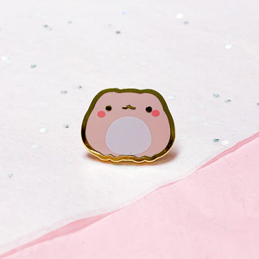 Froggie Colors | Peach Mini Pin