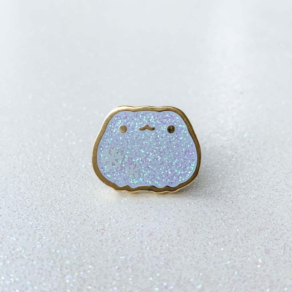 Froggie Winter 2019 | Glitter Snowflake Mini Pin