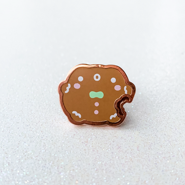 Froggie Winter 2019 | Bitten Gingerbread Mini Pin