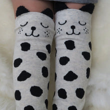 Dalmatian spotted knee high kid socks | Sluice Farbo