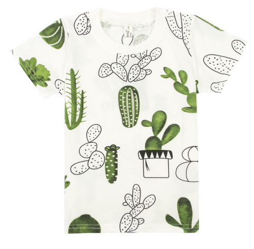 Kids Cacti Shirt | Sluice Farbo