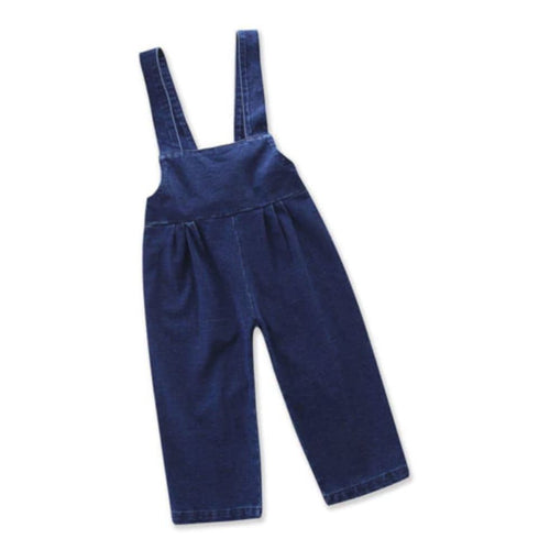 Toddler Girls Denim Jumper | Sluice Farbo