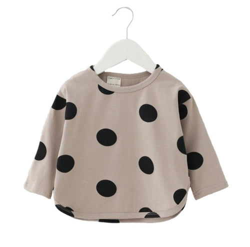 Baby Girls Modern Dot Shirt | Sluice Farbo