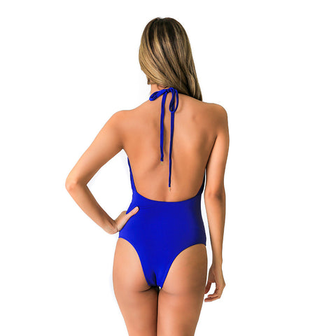 FOX BLUE ONE PIECE - Bikinis Market