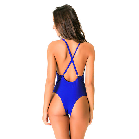 SPIAGGIA BLUE ONE PIECE - Bikinis Market