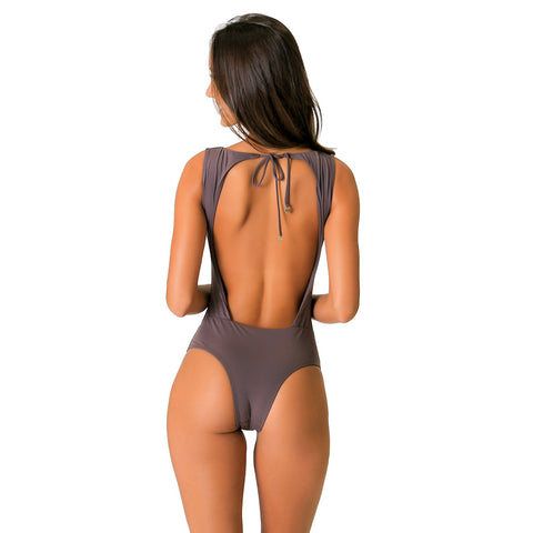 CIA ARMY BROWN ONE PIECE - Bikinis Market