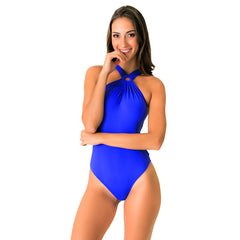 RING BLUE ONE PIECE - Bikinis Market