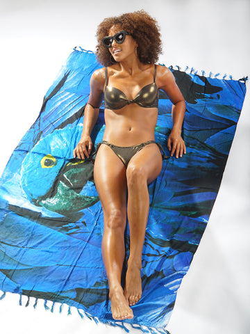 CANGA - BRAZILIAN COVER UP / BEACH BLANKET - Bikinis Market