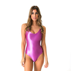 FLORIDA METALLIC PINK ONE PIECE - Bikinis Market