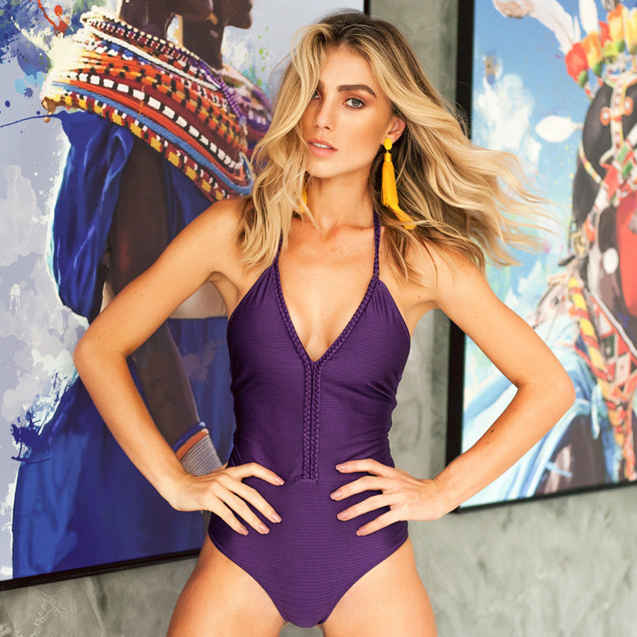 GRAPE MIC ONE PIECE - Bikinis Market