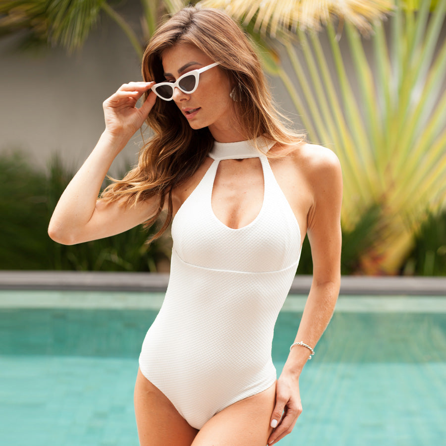 WHITE MR MIA ONE PIECE