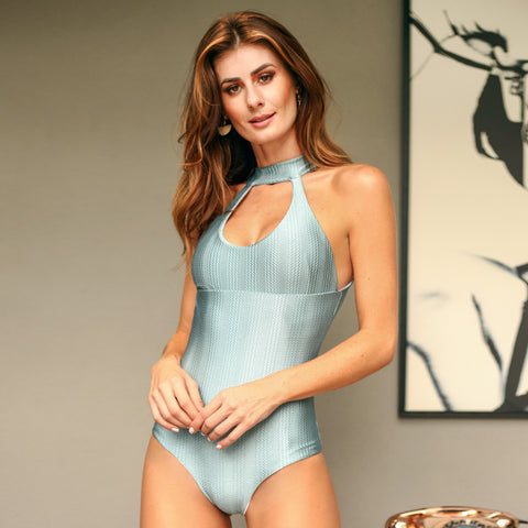 LIGHT BLUE MIA ONE PIECE - Bikinis Market