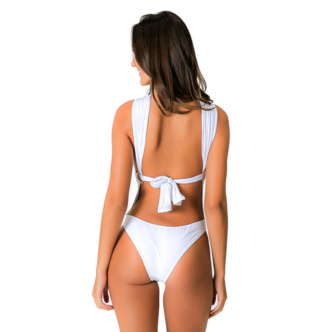 RING WHITE ONE PIECE - Bikinis Market