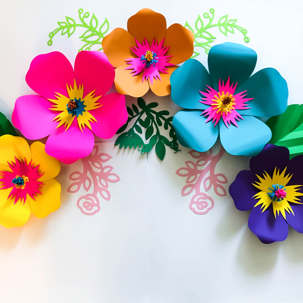 photograph about Printable Paper Flower Templates named PDF Petal 101 Paper Flower Template/Printable/Hint and Slice