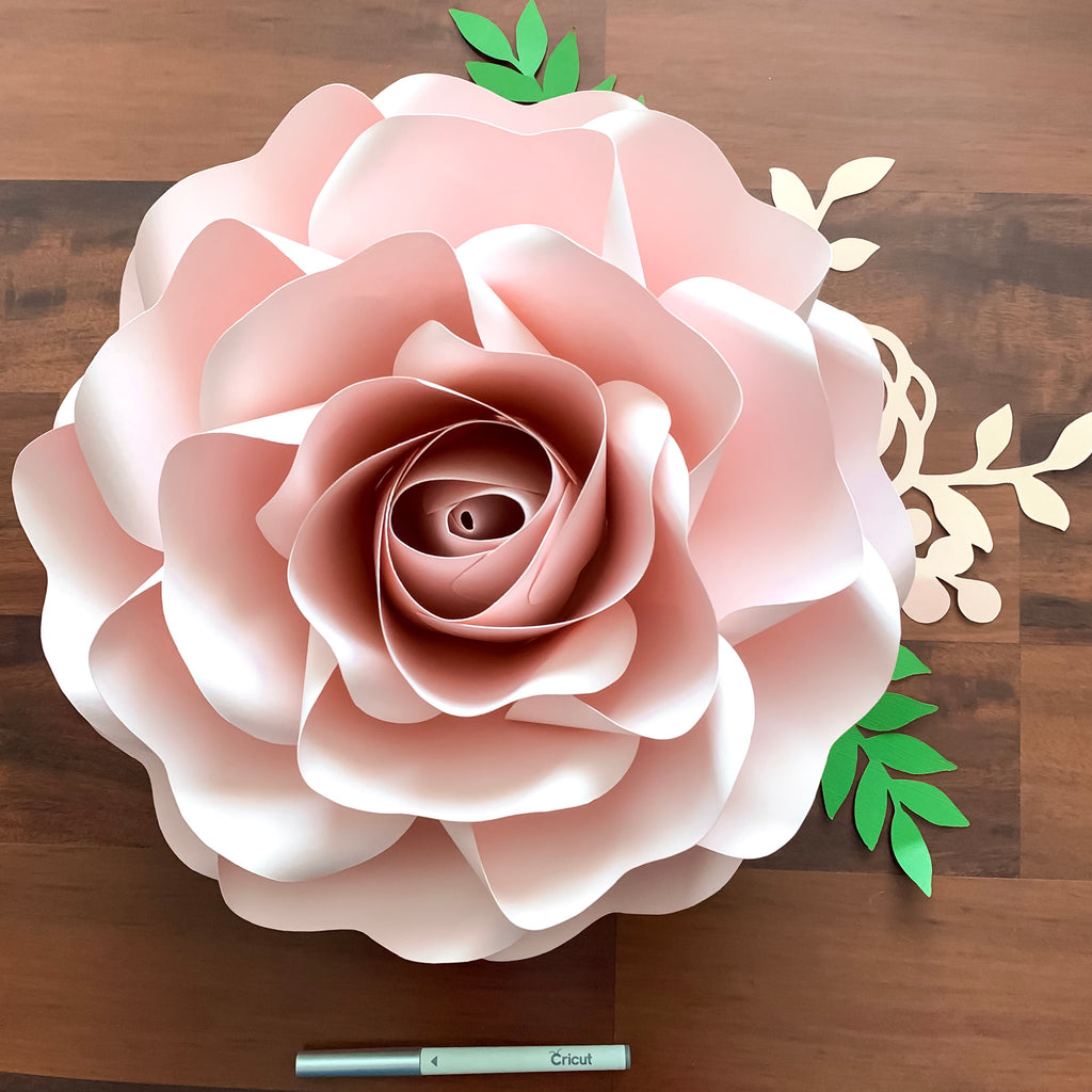 Pdf Paper Flowers Full Sizes Of Large And Medium Roses Paper Flower