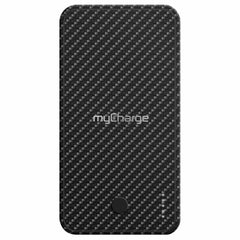 myCharge Executive Powerbank Wireless Charging Qi 5W Black Carbon (Black)