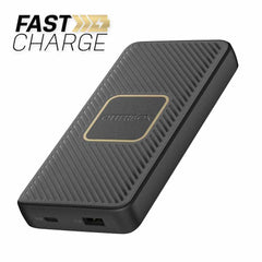 Otterbox Fast Charge Qi Wireless Power Delivery Power Bank 10000 mAh (A&C 18W + 10W) Black