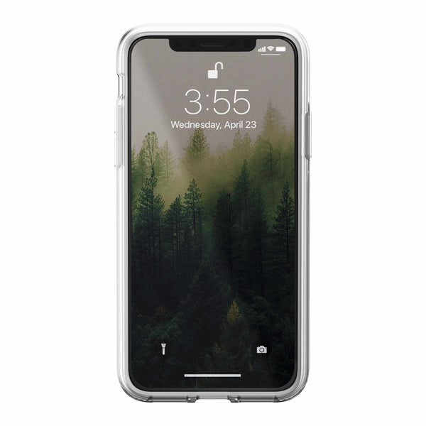 Nomad Clear Case Brown for iPhone X