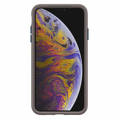 Otterbox Otter + Pop Symmetry Case with Swappable PopTop Go To Blue for iPhone XS Max