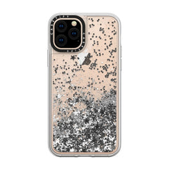 Casetify Glitter Case Monochrome Silver for iPhone 11 Pro