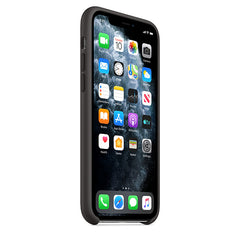 Apple Silicon Case Black for iPhone 11 Pro
