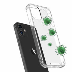 Blu Element Antimicrobial DropZone Rugged Case Clear for iPhone 12 mini