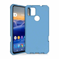 Feronia Bio Terra DropSafe Biodegradable Case Blue for Google Pixel 4a 5G