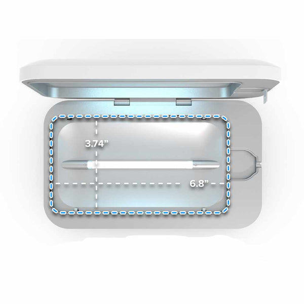 Phonesoap 3 UV Sanitizer/Charger White
