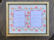 Twin Girls Keepsake Frame