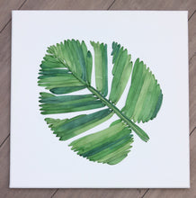 Tropical Leaf 3d Botanical