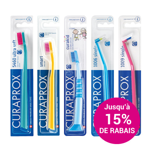 Curaprox Toothbrushes - Family Pack (Mix & Match)