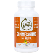 X-PUR Gums 100% Xylitol (Fruit - Large bottles) - Oral Science Boutique