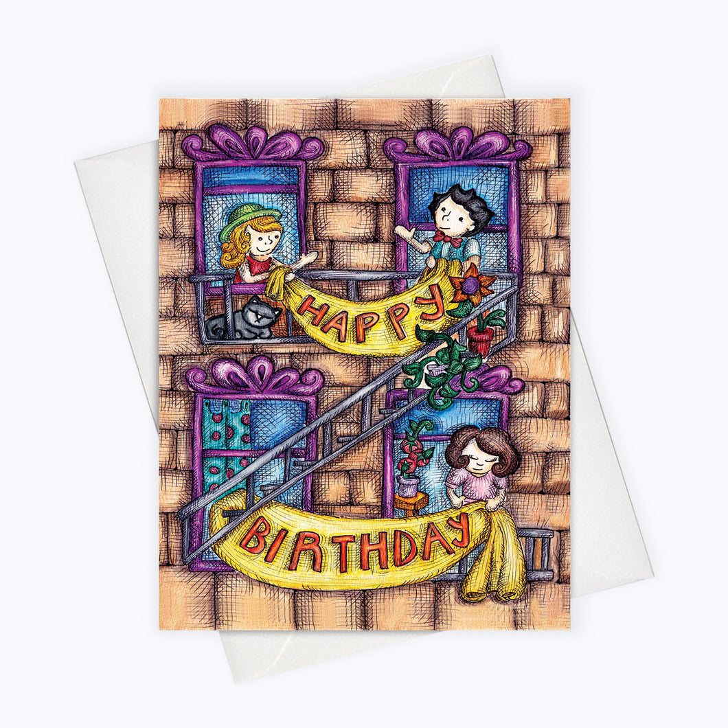 BIRTHDAY CARD - City Birthday Card