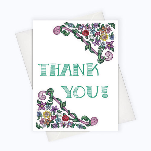 Professional thank you card Thank You Note