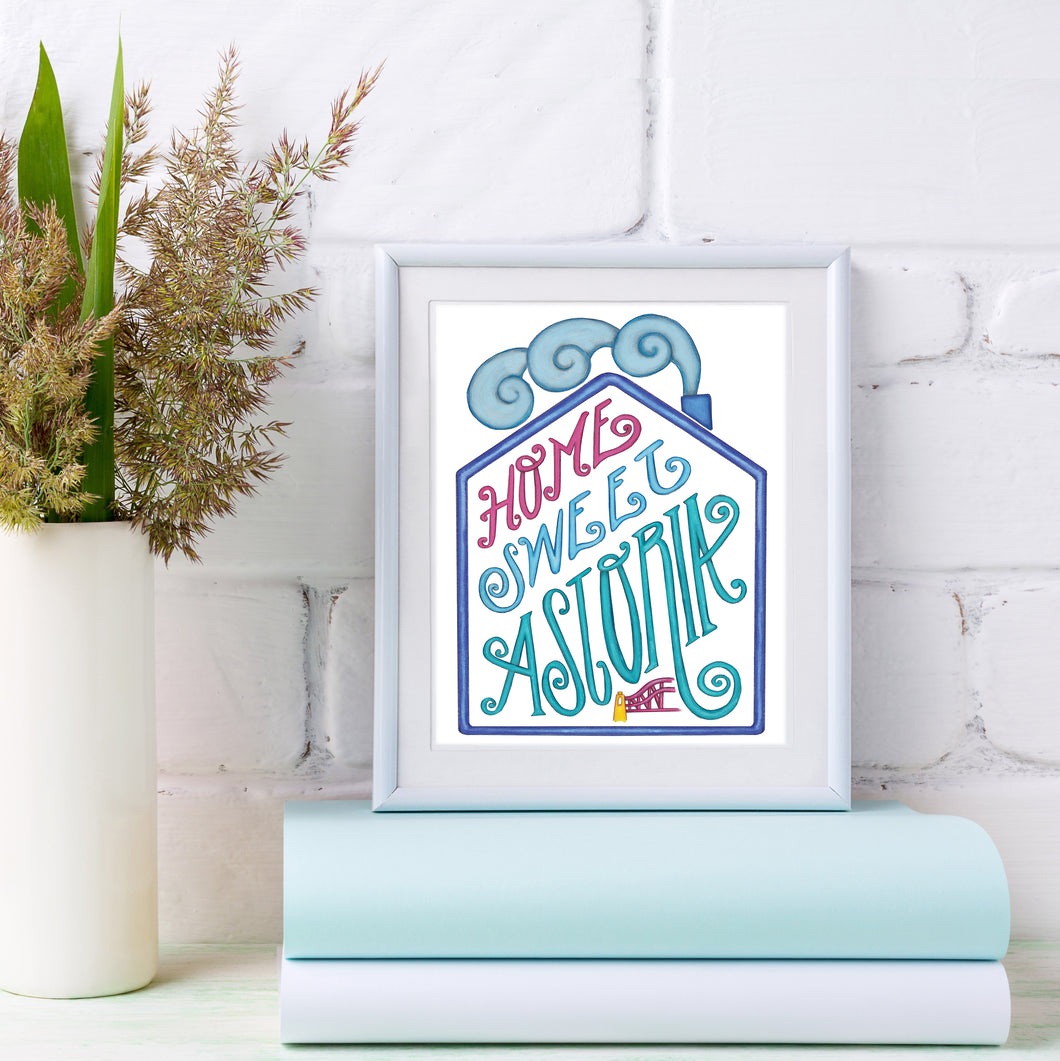 Sweet Home Astoria Print
