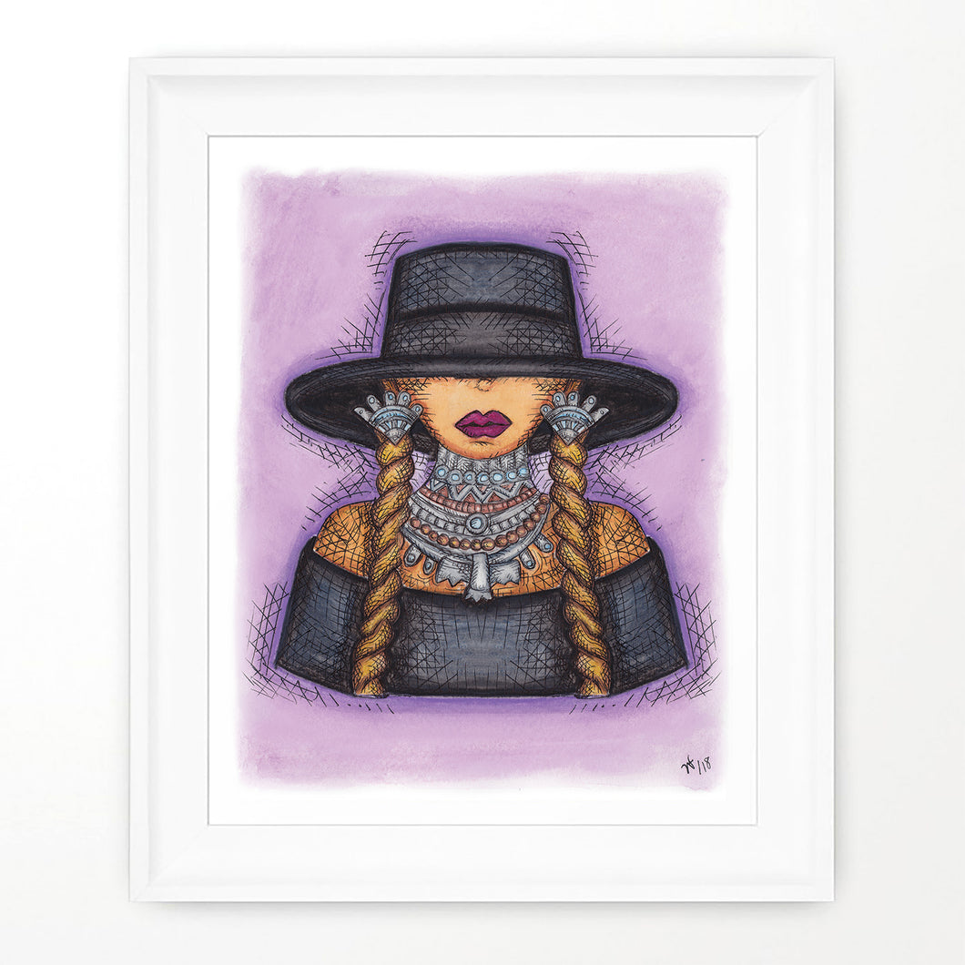 Beyonce formation portrait Beyonce print Lemonade art Queen Bey Print