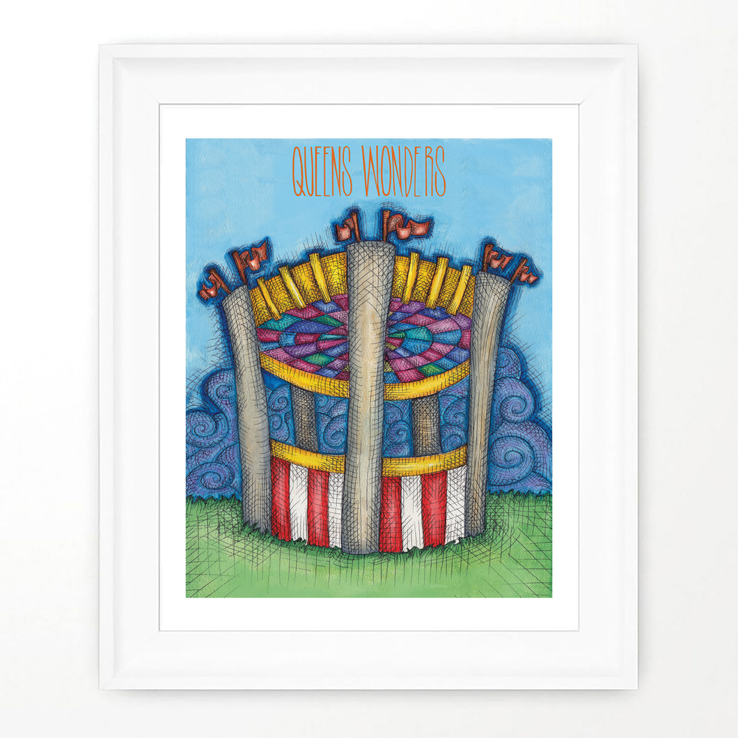 Queens World's Faire Print