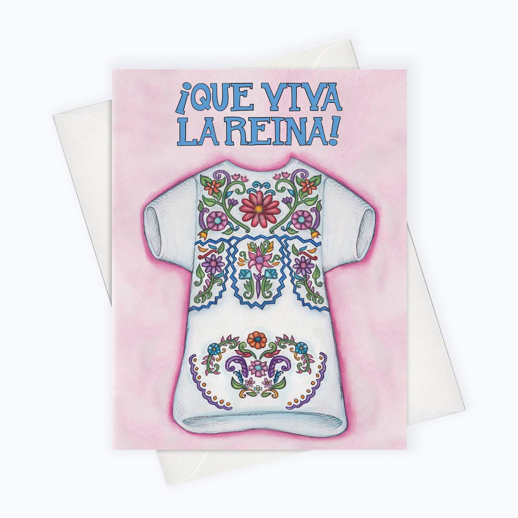 Mexican flowers dress Latina Power