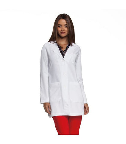 "3 Pocket Women's Lab Coat 34"" 4481"
