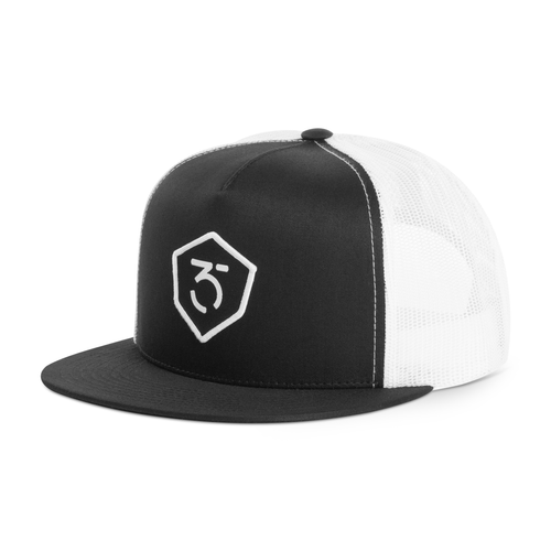 365MX Trucker Snapback - White