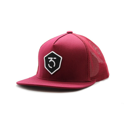 365MX Icon Trucker Snapback – Maroon