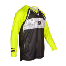365MX ONYX Race Jersey - Black/Neon Yellow