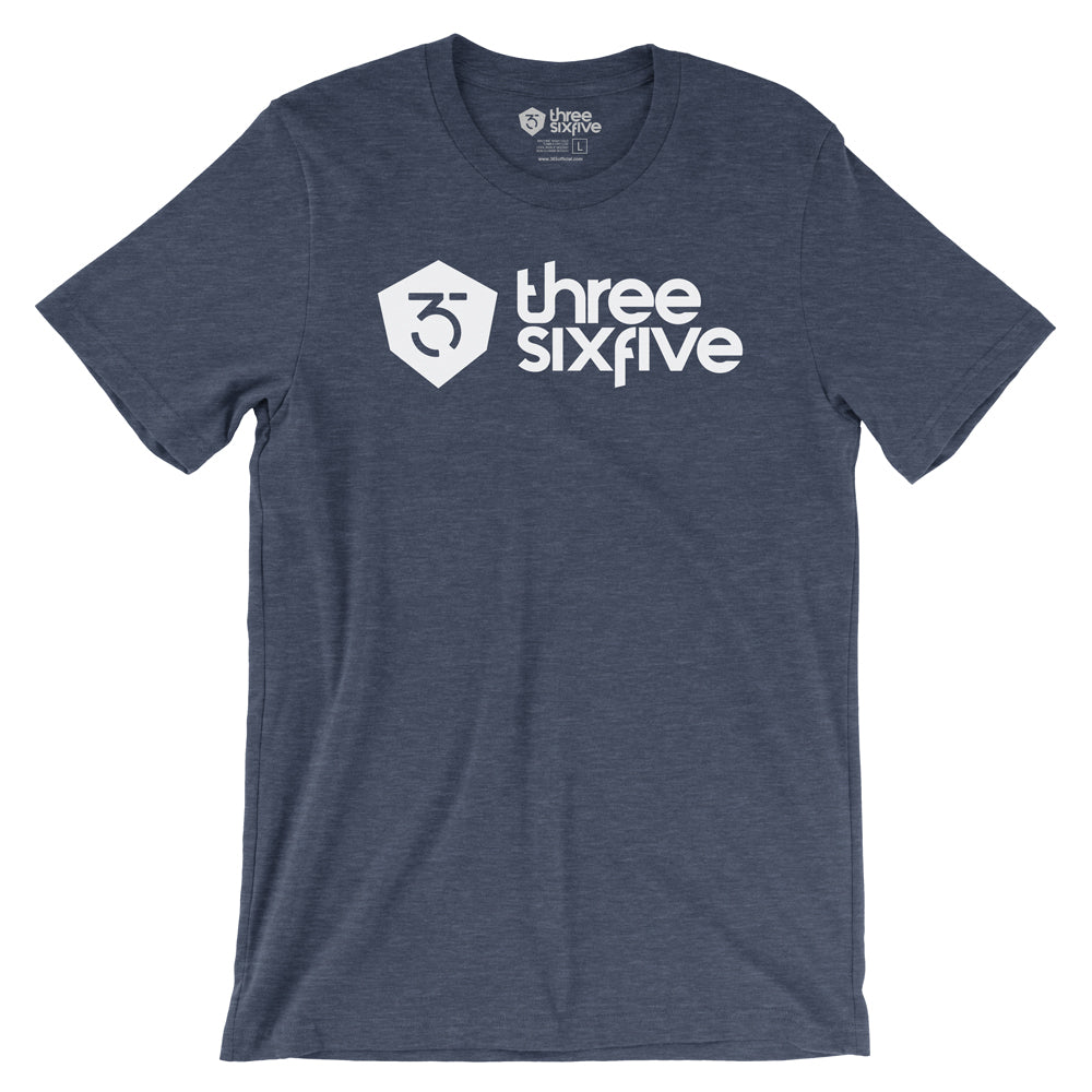365MX Logo Tee - Heather Navy