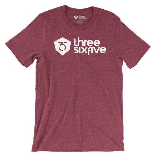 365MX Logo Tee - Heather Red